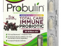 Probulin, Total Care Immune Probiotic + Prebiotic & Postbiotic with Real Elderberry, 20 Billion cfu, 30 Capsules
