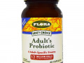Flora, Udo's Choice, Adult's Probiotic, 60 капсул