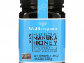 Wedderspoon, Raw Multifloral Manuka Honey, KFactor 12, 1.1 lb (500 g)