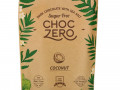 ChocZero, Dark Chocolate With Sea Salt, Coconut, Sugar Free, 6 Bars, 1 oz Each