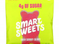 SmartSweets, Sour Gummy Bears, Raspberry, Apple, Lemon Peach, 1.8 oz (50 g)