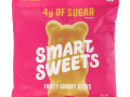 SmartSweets, Fruity, Gummy Bears, Raspberry, Apple, Lemon, Peach, 1.8 oz (50 g)
