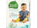 Seventh Generation, Free & Clear Diapers, Size 2, 12-18 lbs, 36 Diapers