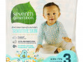 Seventh Generation, Free & Clear Diapers, Size 3, 16-24 lbs, 31 Diapers